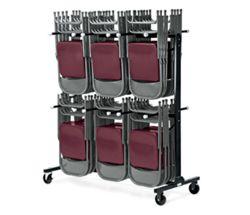 Folding Chair Caddy - 84 Chair Capacity