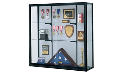 "Wall-Mount Display Case 48"" Wide x 48"" High"