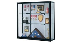 """Wall-Mount Display Case 48"""" Wide x 48"""" High"""