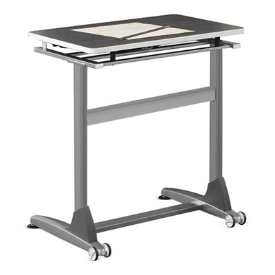 "Standing Height Tilt-Top Table - 36""W"