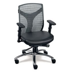 Vector Conference Chair with Polyurethane Seat
