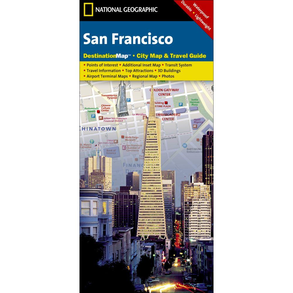 San Francisco Destination City Map National