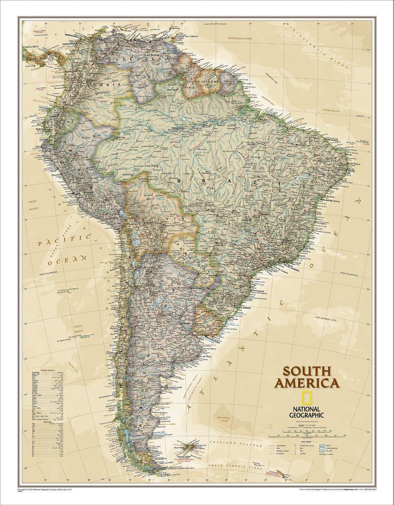 Continent Maps Shop Mural World Maps National Geographic Store - National geographic world maps for sale