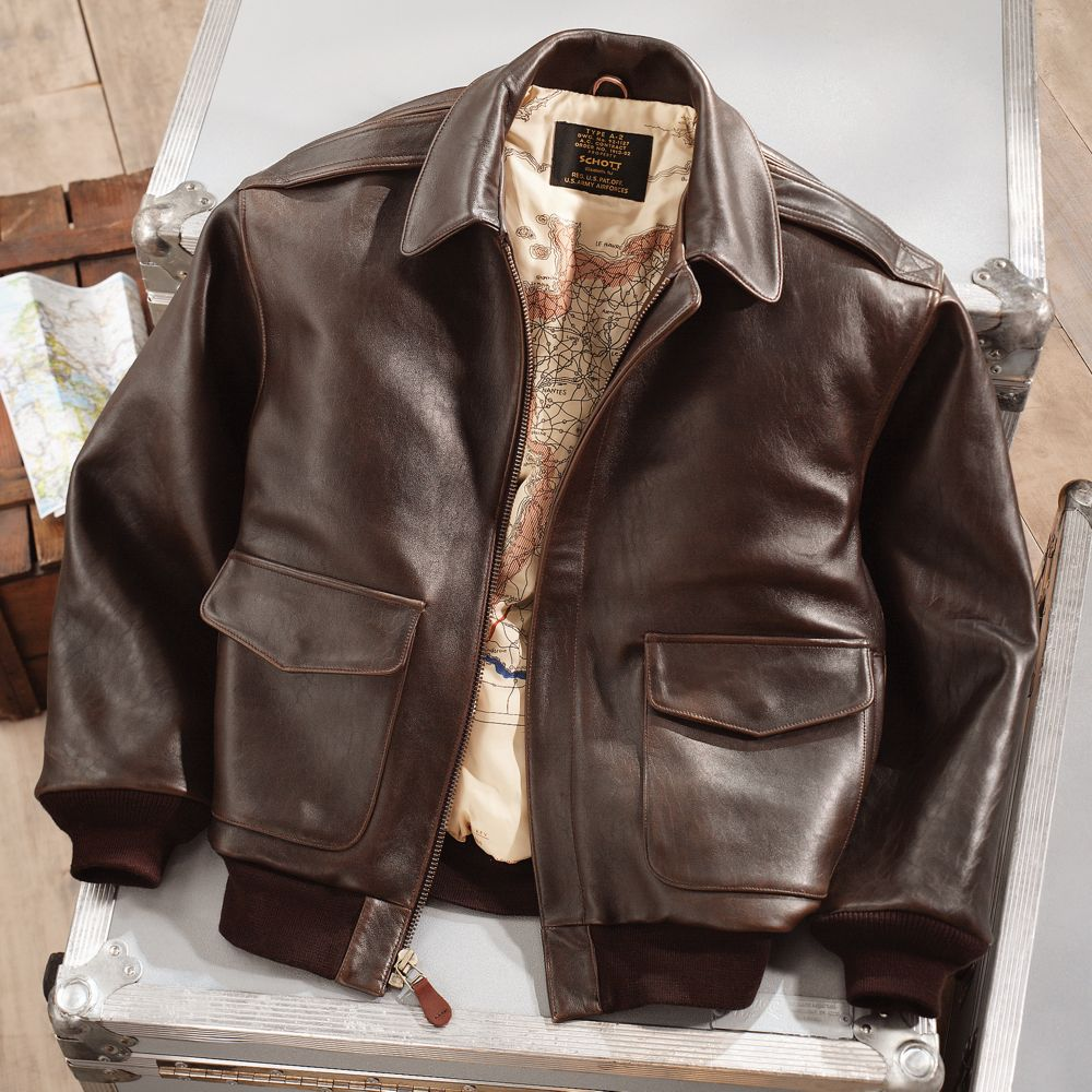 Leather jacket europe - Leather A 2 Flight Jacket National Geographic