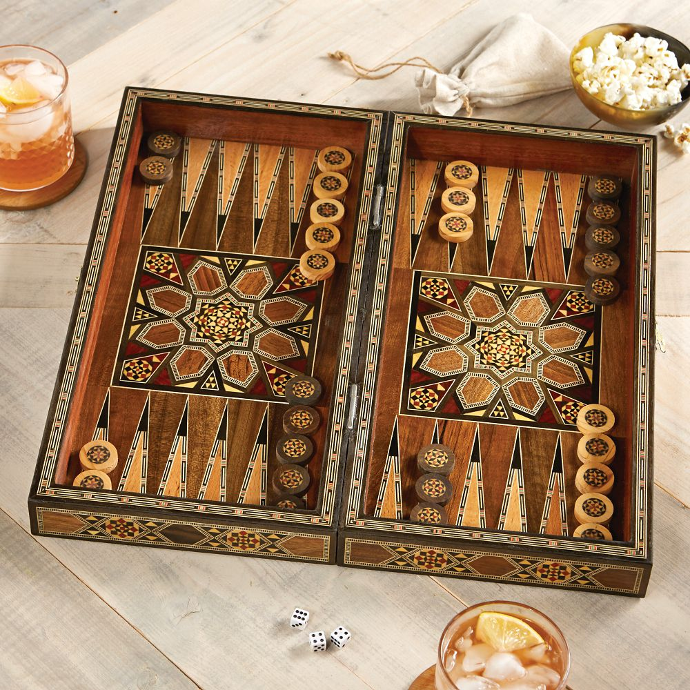 Mosaic Backgammon Set National Geographic Store