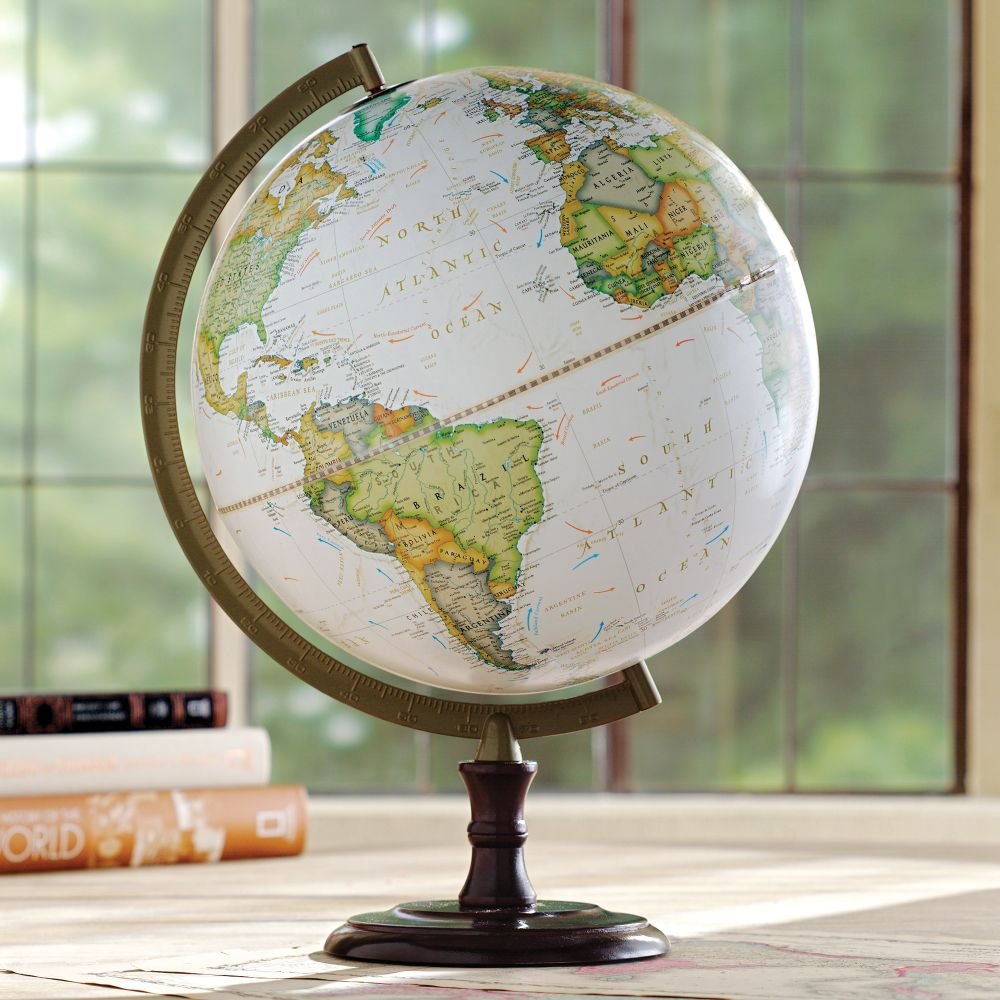 National Geographic Highspire Non Illuminated Desk Globe