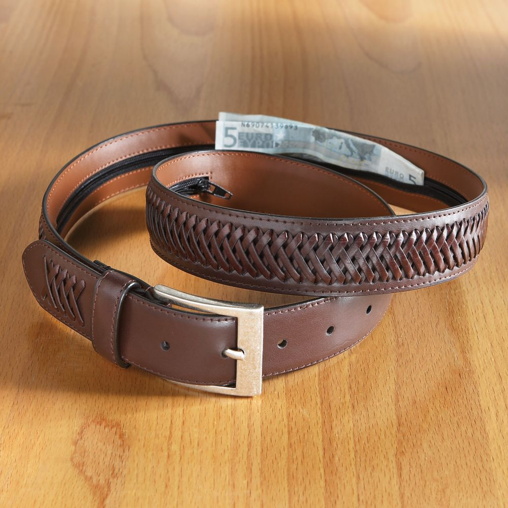 woven leather money belt national geographic store