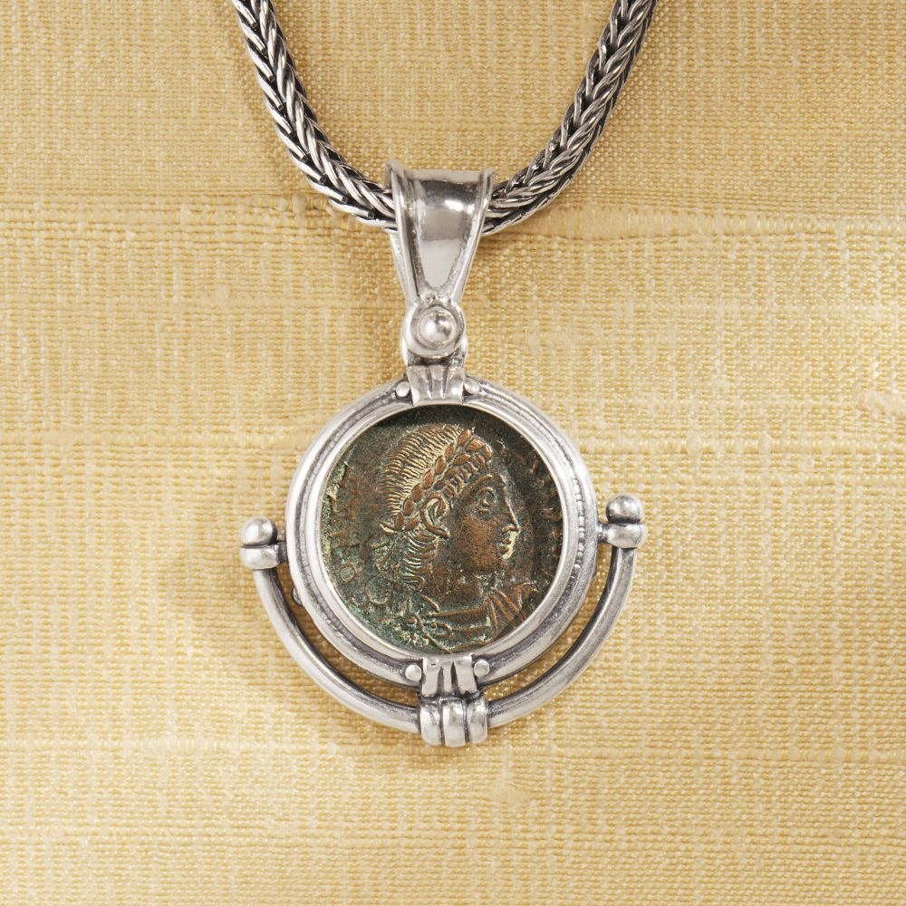 ancient coin necklace national geographic store