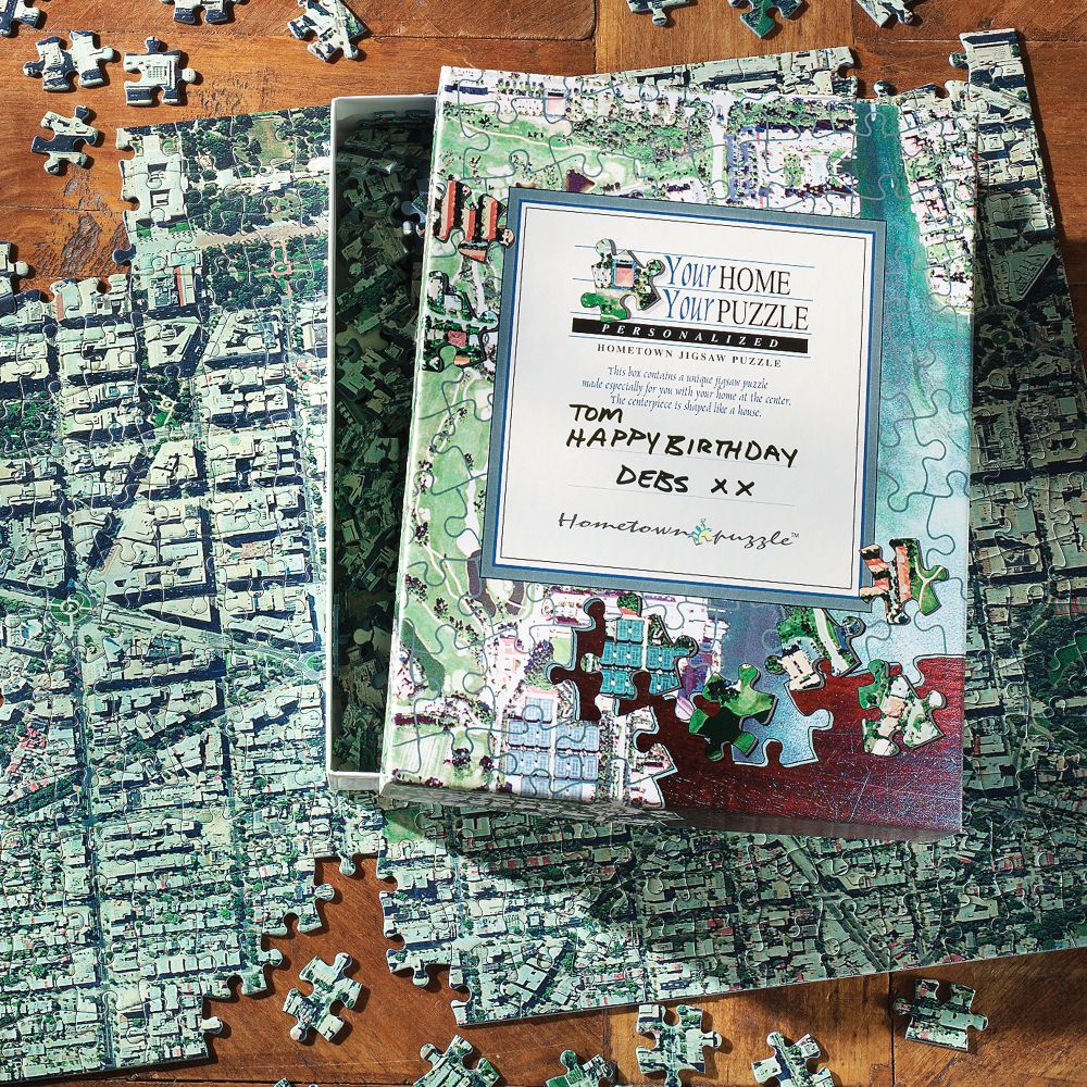 Personalized Aerial Map Jigsaw Puzzle National Geographic Store - Florida map jigsaw puzzle