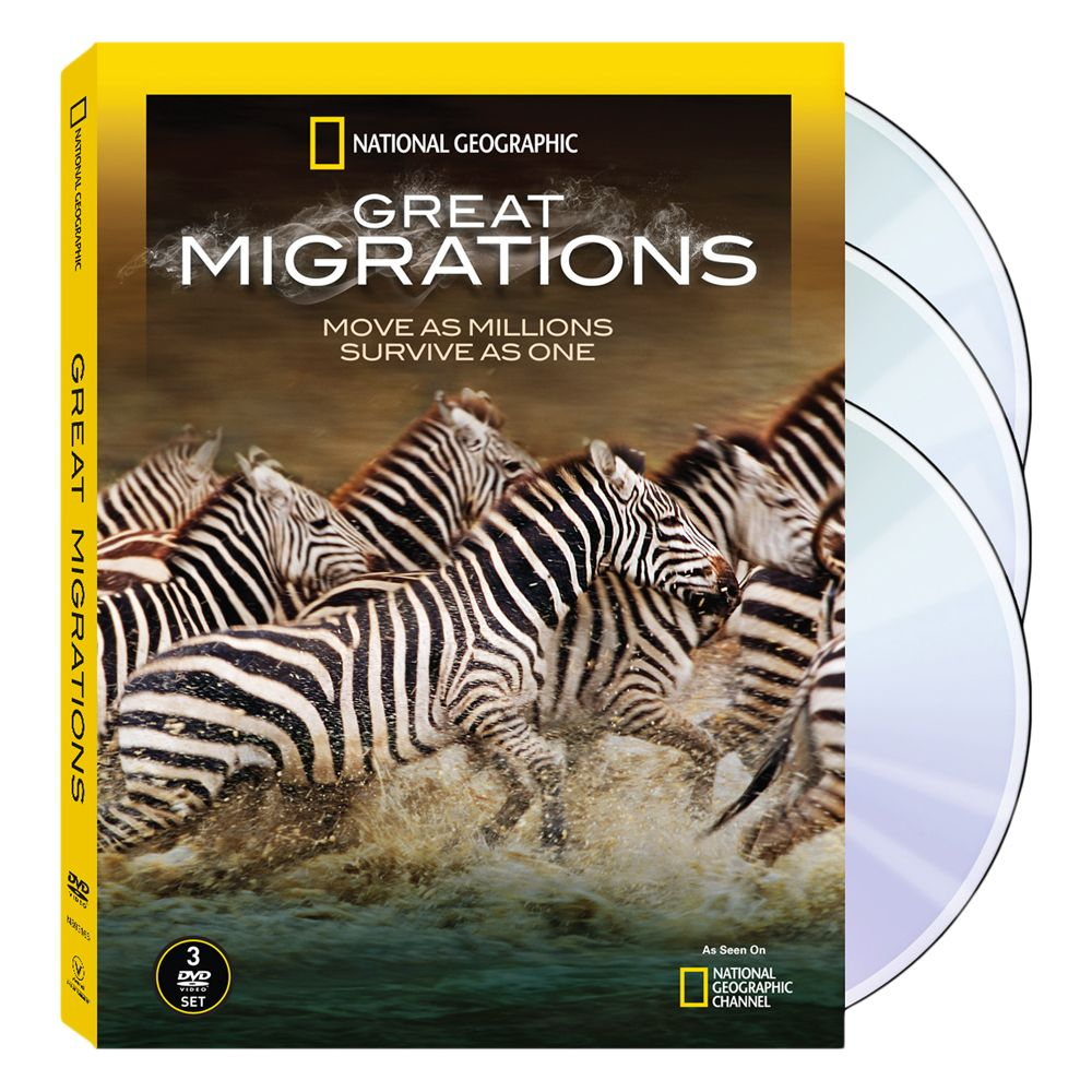 great migrations 3 dvd set national geographic store