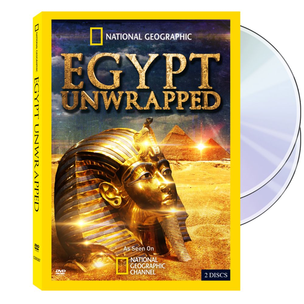 Egypt Unwrapped DVD Set National Geographic Store - Map of egypt national geographic
