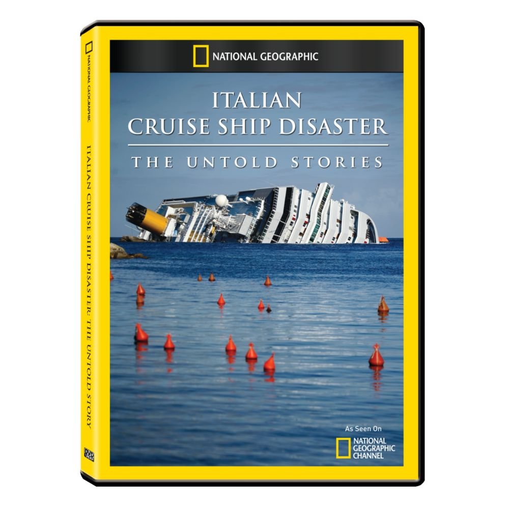 Italian Cruise Ship Disaster The Untold Stories DVDR National - Cruise ship stories