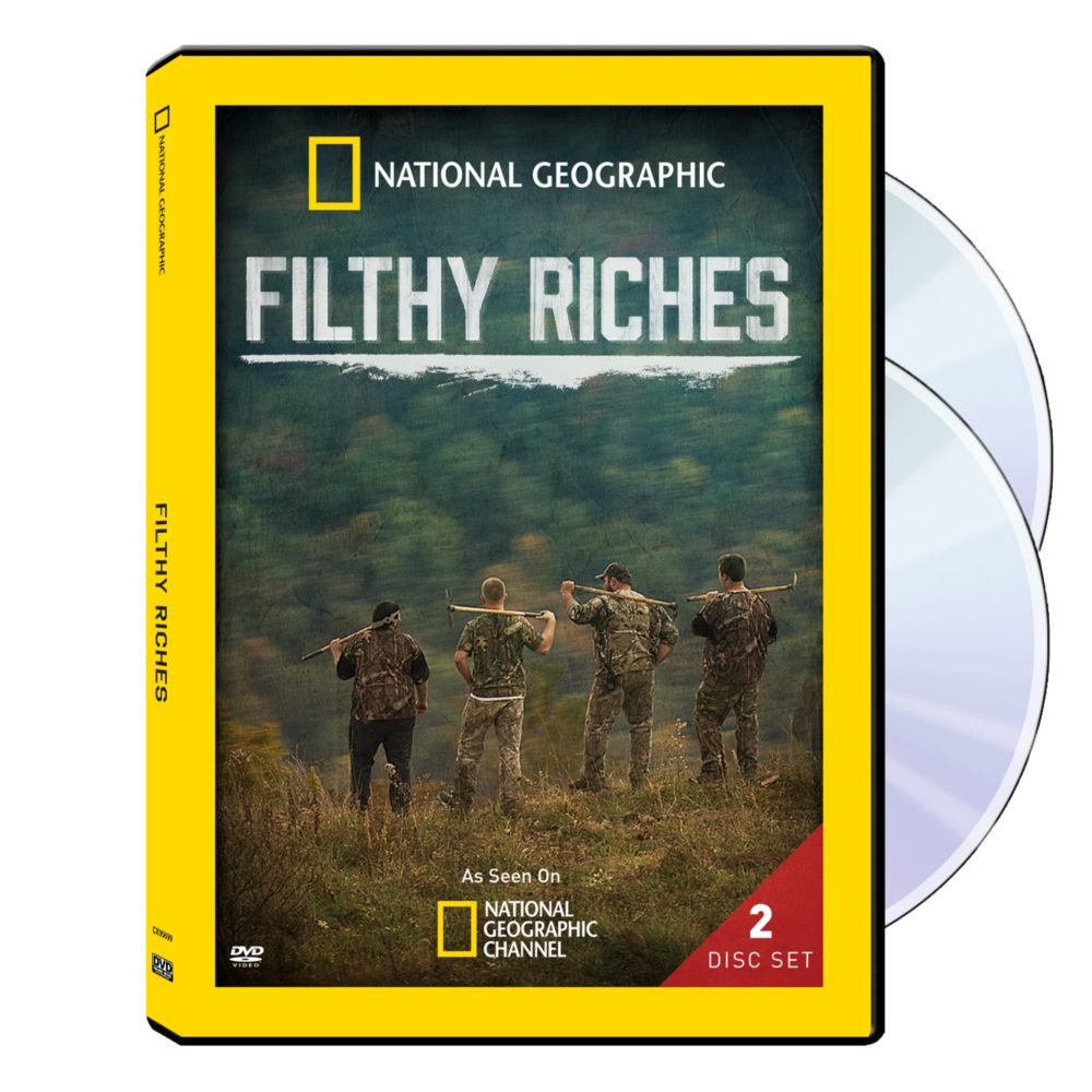 Filthy Riches 2-DVD-R Set - National Geographic Store