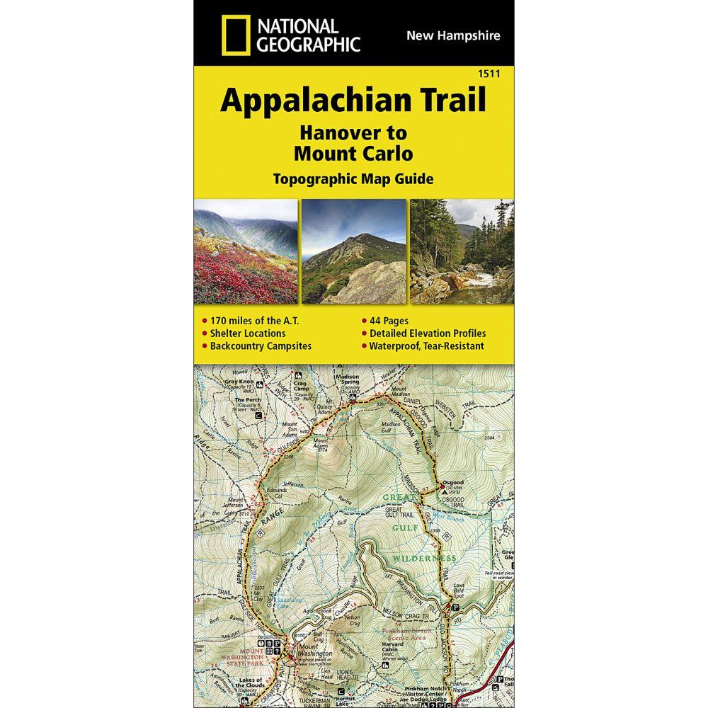 Appalachian Trail Hanover To Mount Carlo New Hampshire - Appalachian trail us map