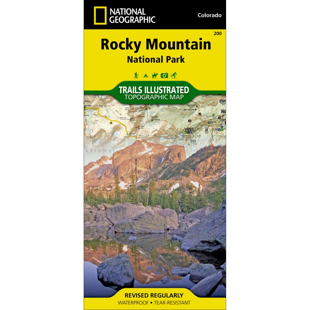 200 Rocky Mountain National Park Trail Map  National Geographic Store
