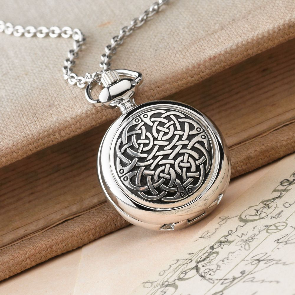 Celtic knot pewter pendant watch national geographic store aloadofball Choice Image