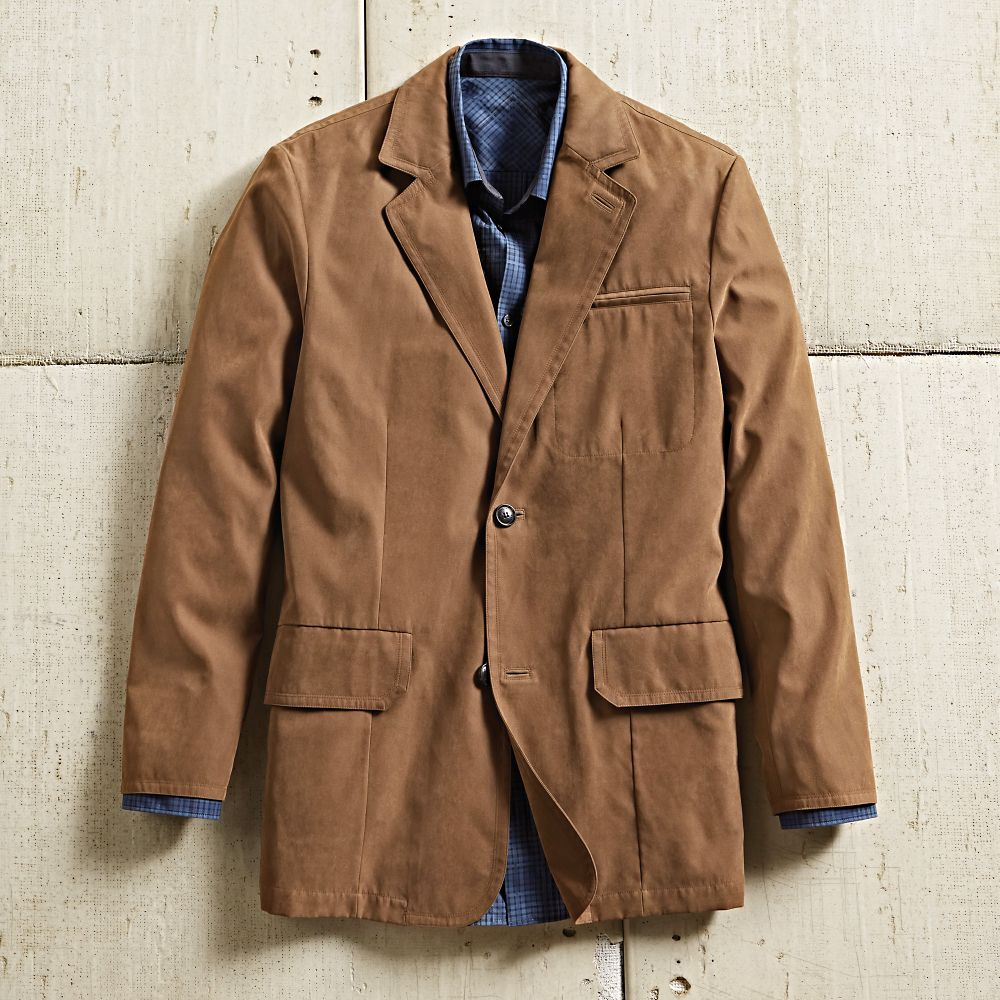 Men's Ultrasuede Travel Blazer - National Geographic Store