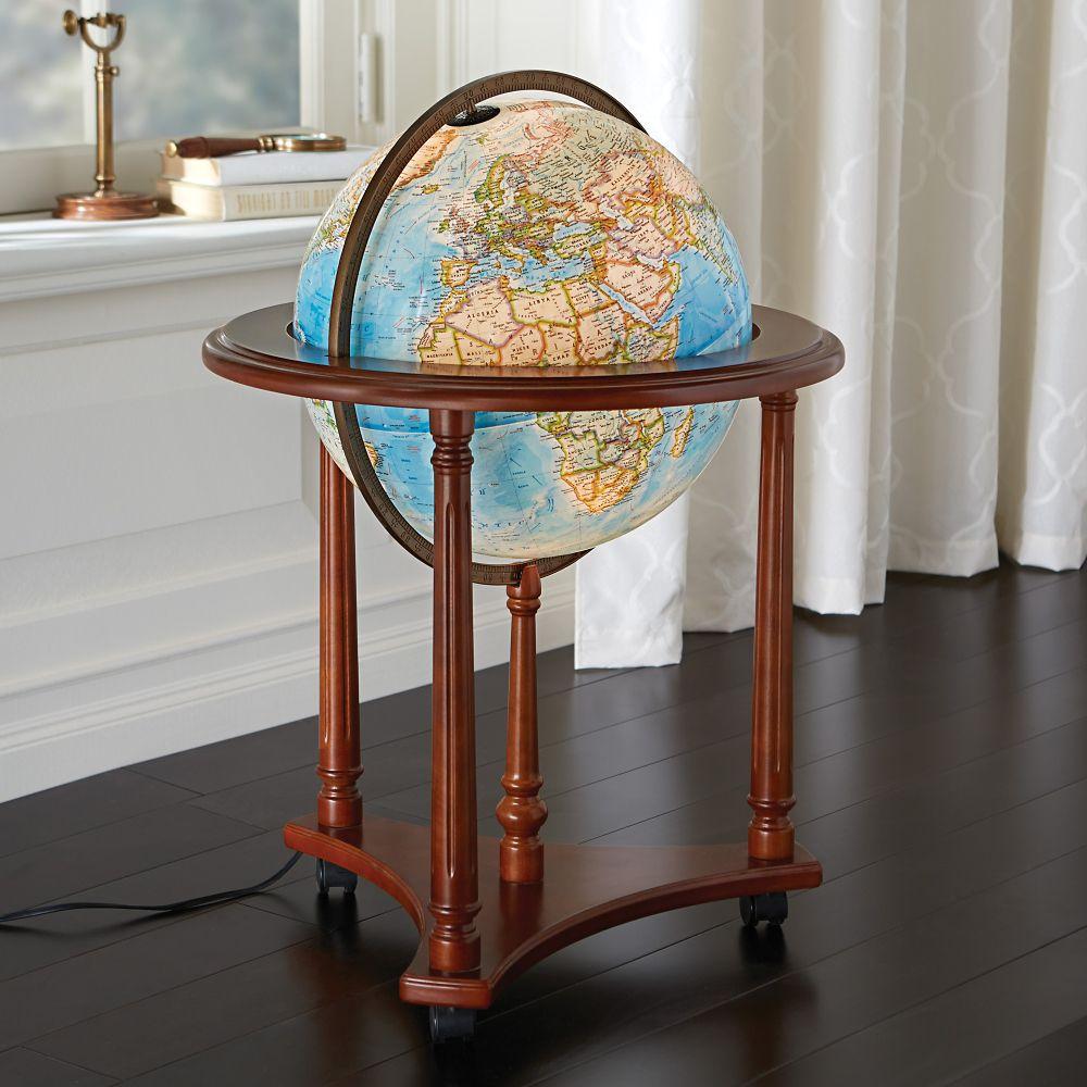 Floor world globes canada meze blog for 16 inch floor old world bar globe cart