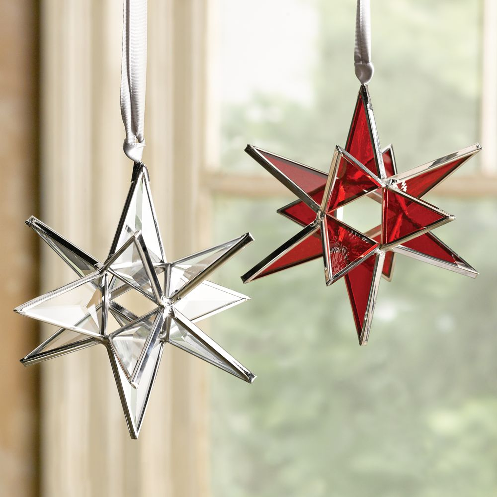 moravian star christmas ornaments