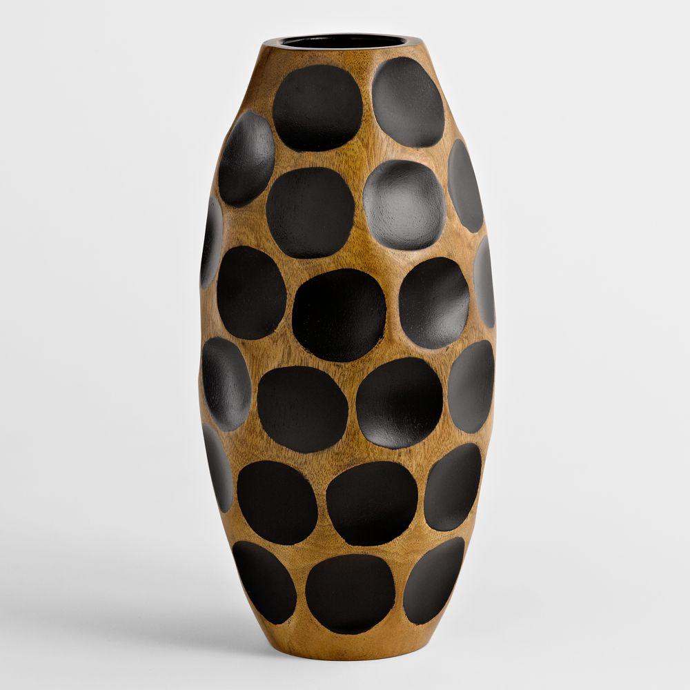 Thai mango wood vase honeycomb national geographic store floridaeventfo Images