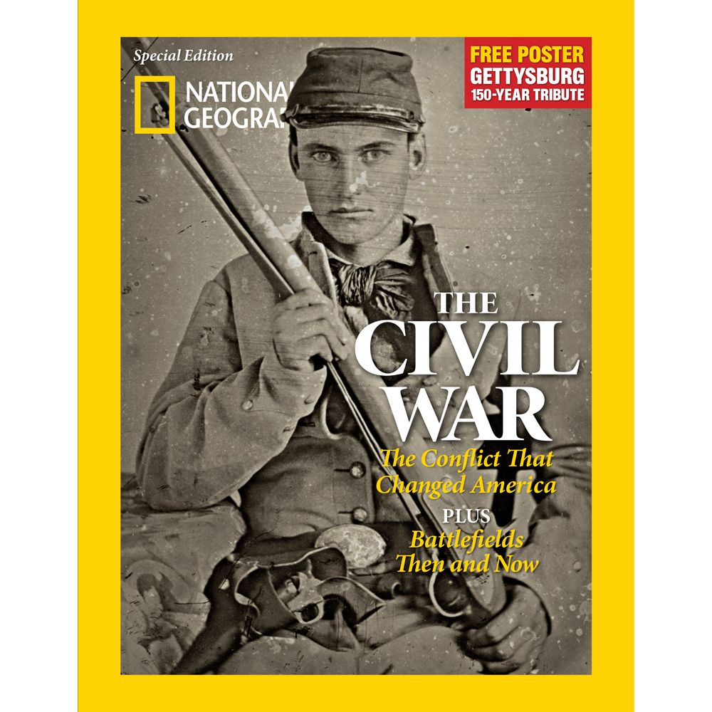 National Geographic The Civil War Special Issue - National Geographic Store