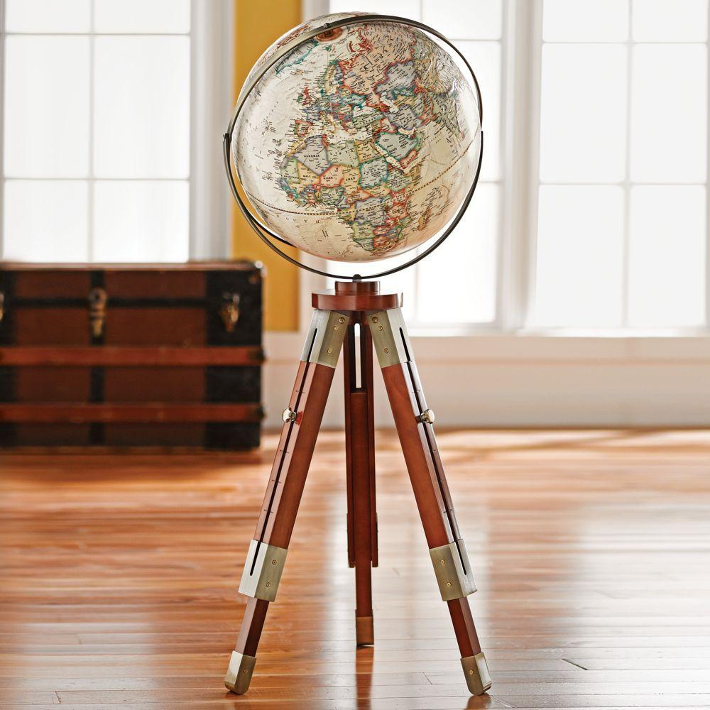 National Geographic Eaton IIl Tripod Globe National Geographic Store