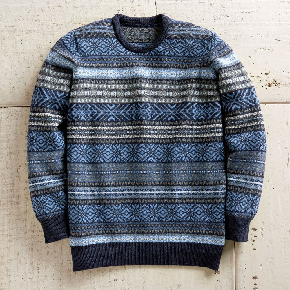 Fair Isle Sweater - National Geographic Store