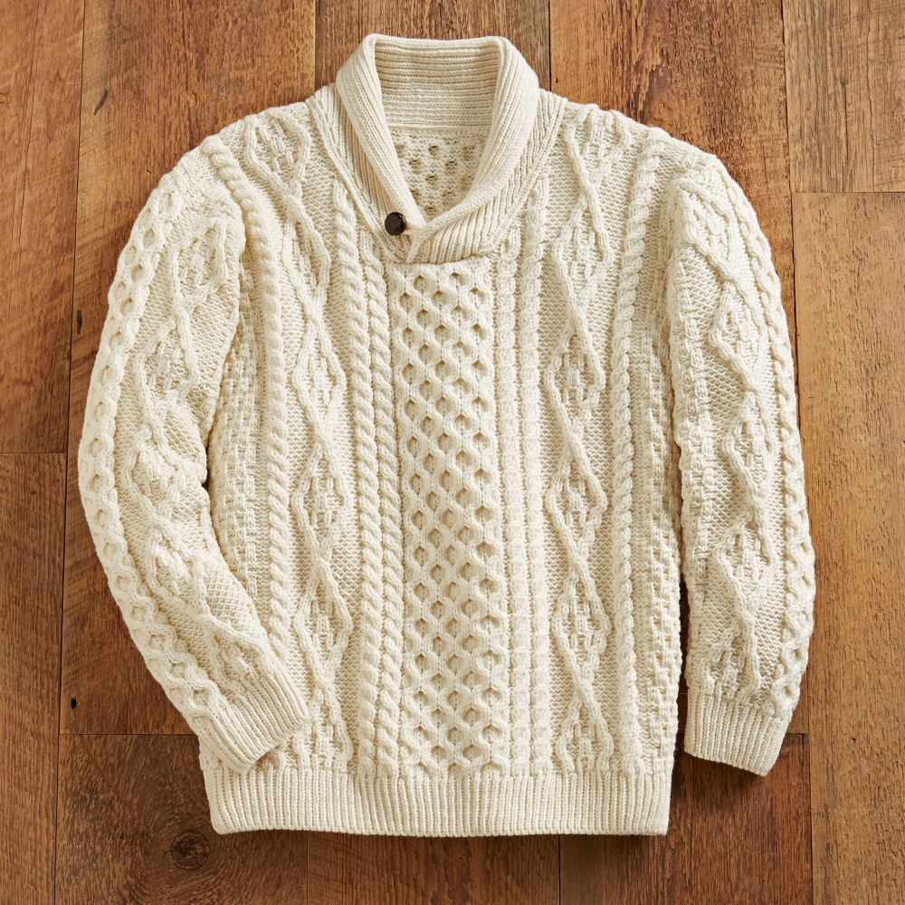 Irish shawl collar sweater national geographic store bankloansurffo Gallery