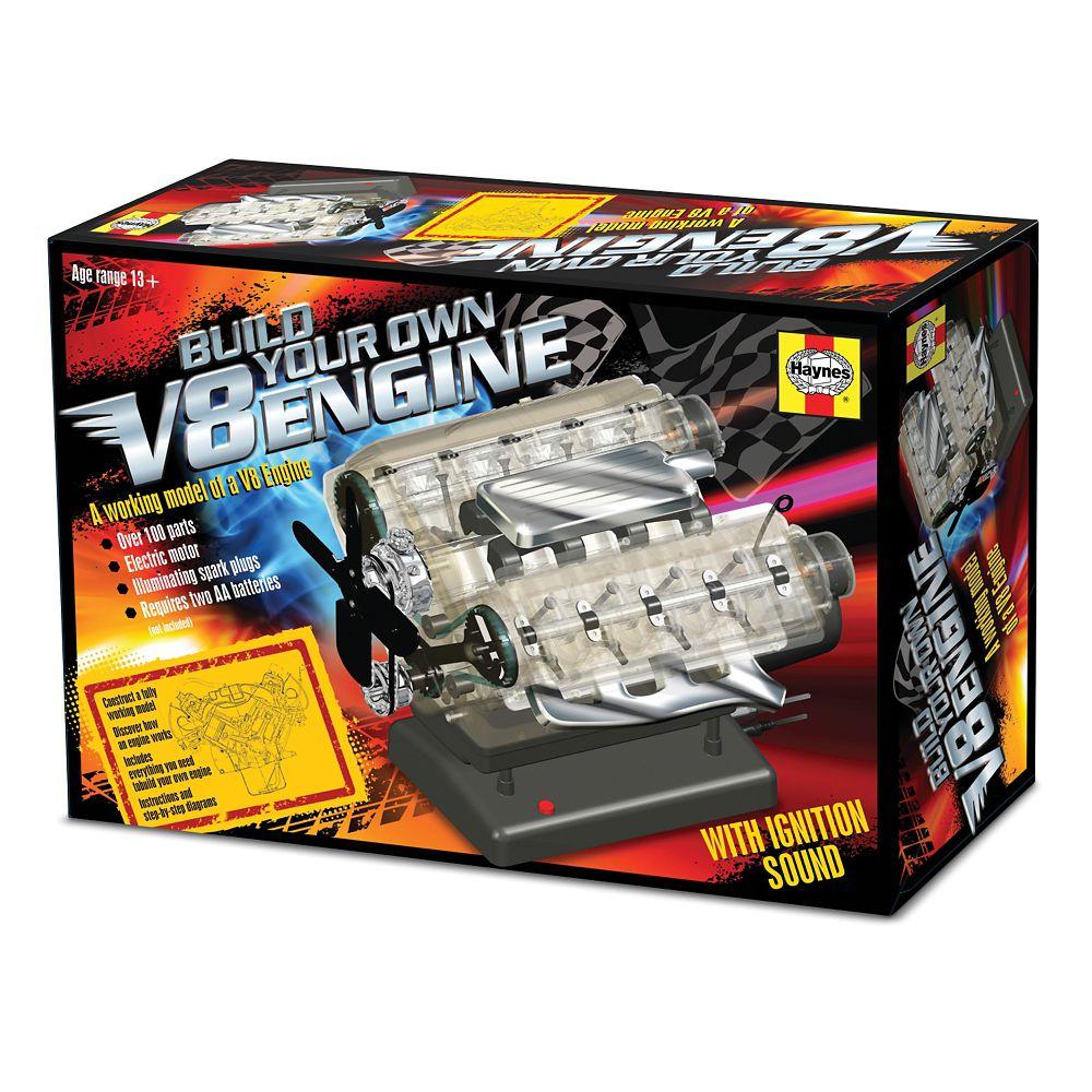 v 8 engine kit national geographic store