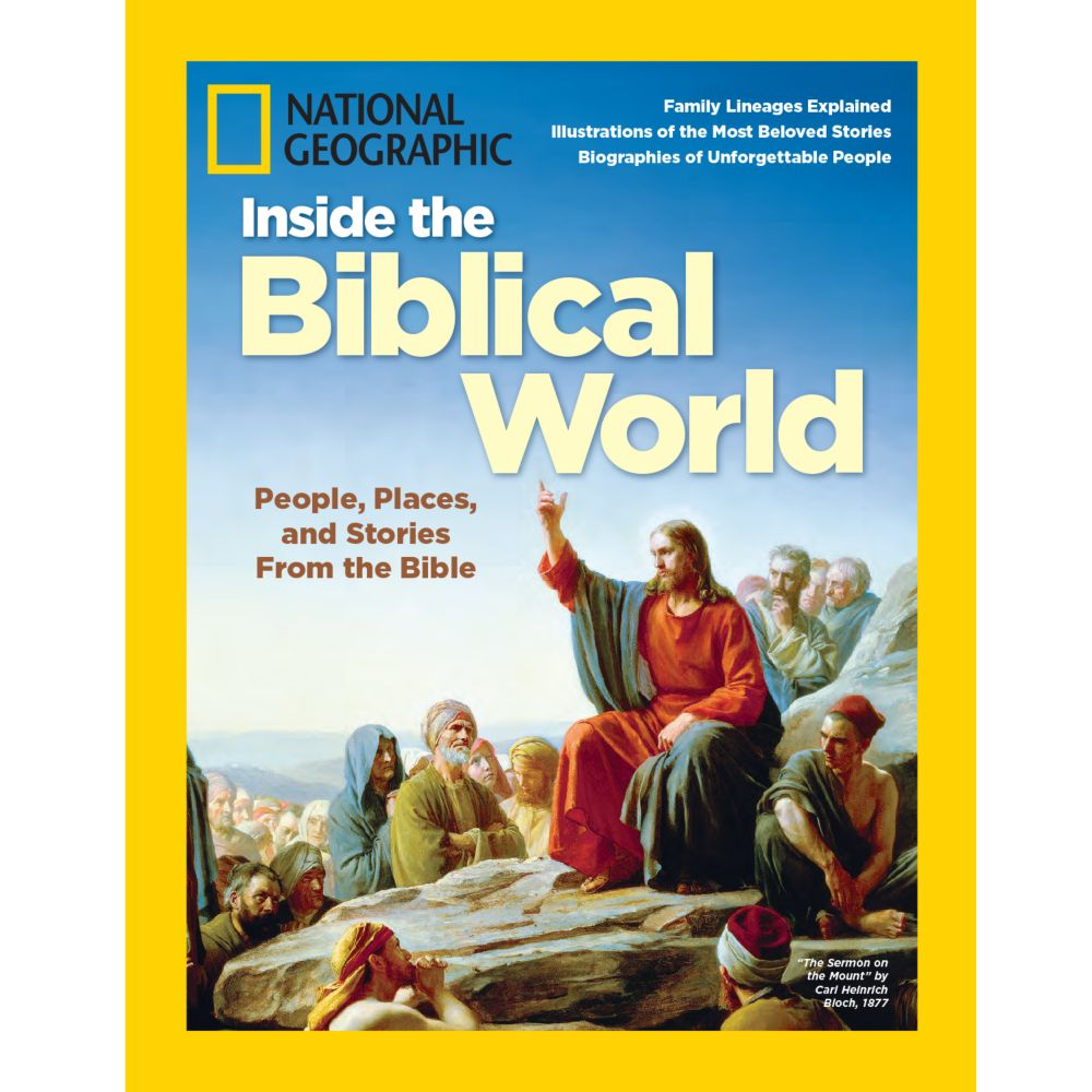 National Geographic Inside the Biblical World Special Issue - National Geographic Store