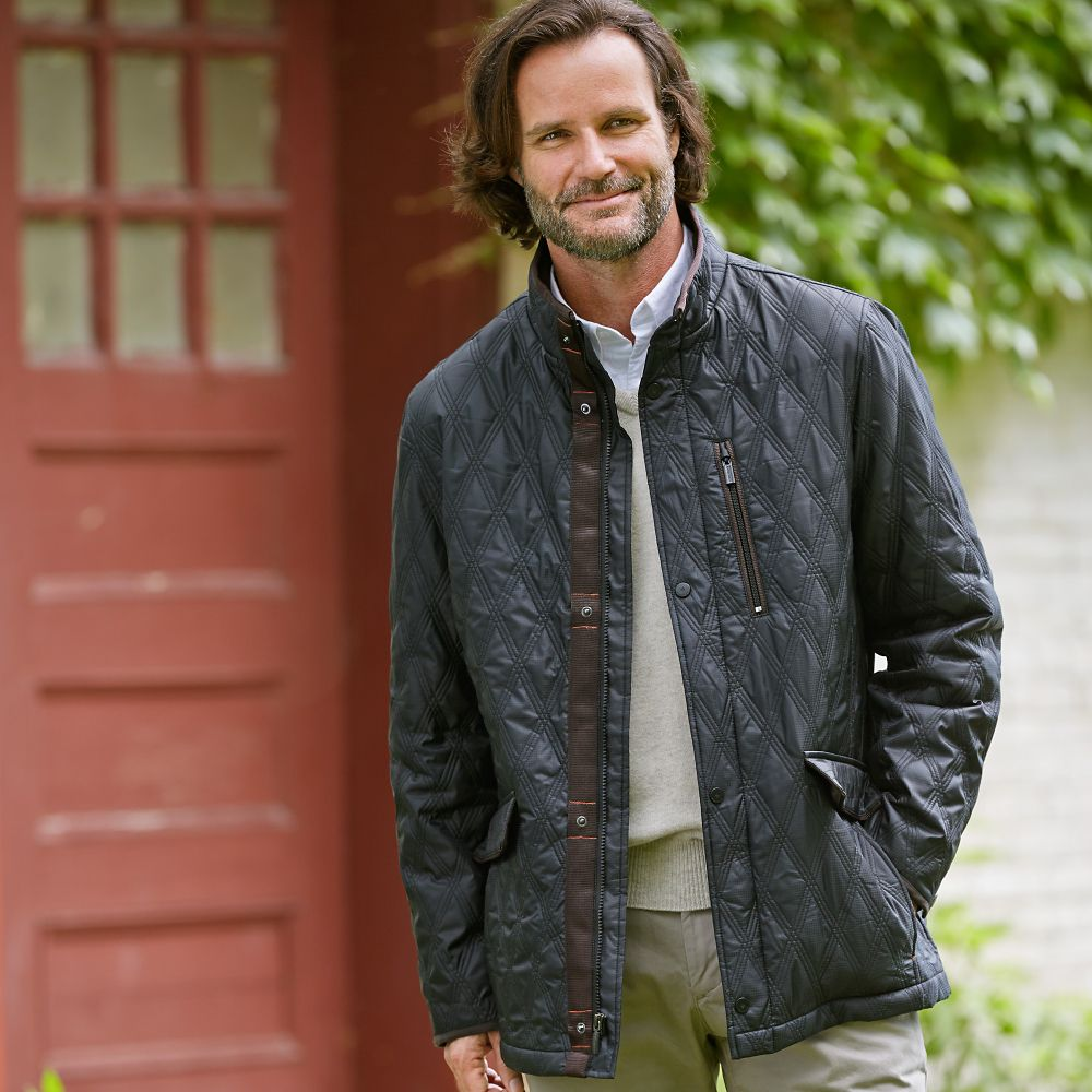 Quilted Walking Jacket - National Geographic Store : mens quilted barn jacket - Adamdwight.com