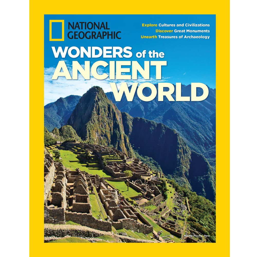 National Geographic Wonders of the Ancient World Special Issue - National Geographic Store