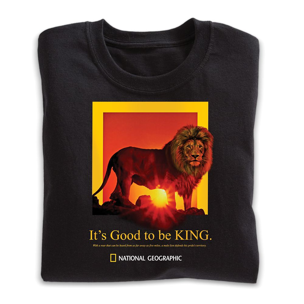 It s Good To Be King Lion T Shirt Adult Sizes National
