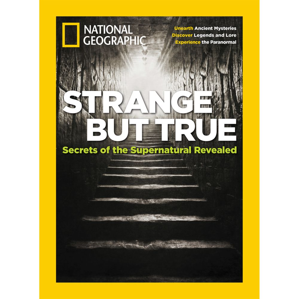 National Geographic Strange But True Special Issue - National Geographic Store