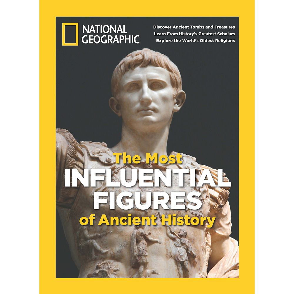 National Geographic Most Influential Figures of Ancient History Special Issue - National Geographic Store