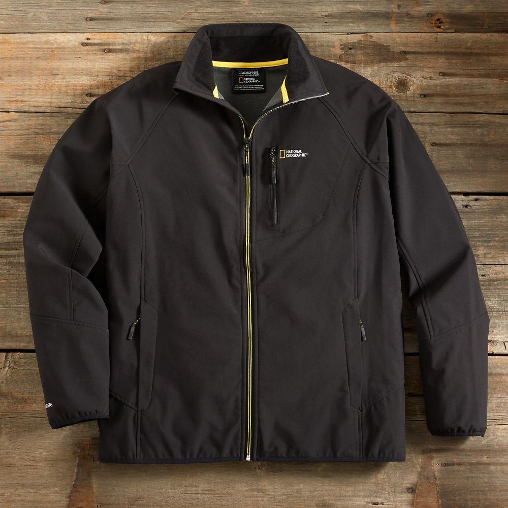 Men S National Geographic Prolite Soft Shell Jacket