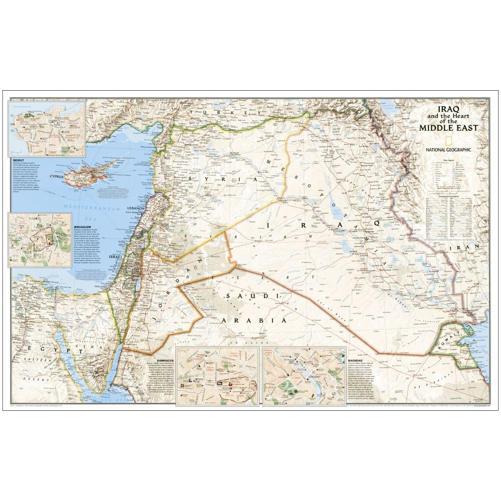 Iraq and the of the Middle East Thematic Map - National ... National Geographic Map Of Middle East on large map of middle east, geography map of middle east, state map of middle east, fox map of middle east, the geographical map of middle east, maps of ancient mid east, atlas of middle east, google map of middle east, global map of middle east, harpercollins map of middle east,