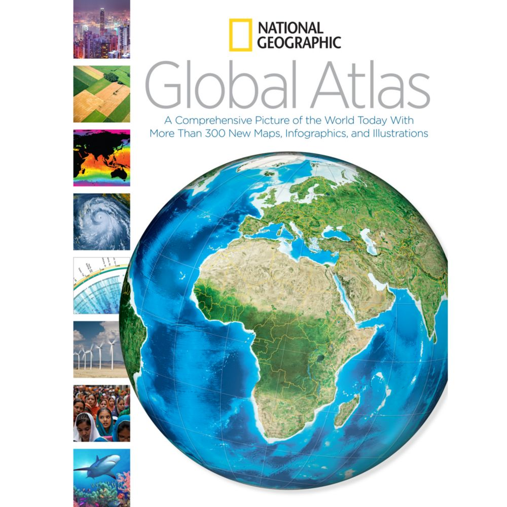 National Geographic Global Atlas National Geographic Store - How the globe and maps help us