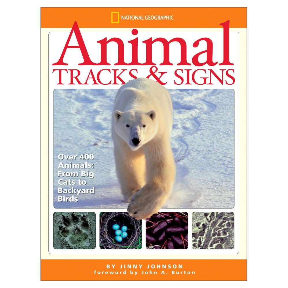 animal tracks and signs national geographic store
