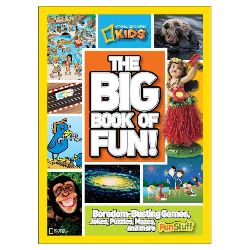 national geographic kids big book of fun national geographic store