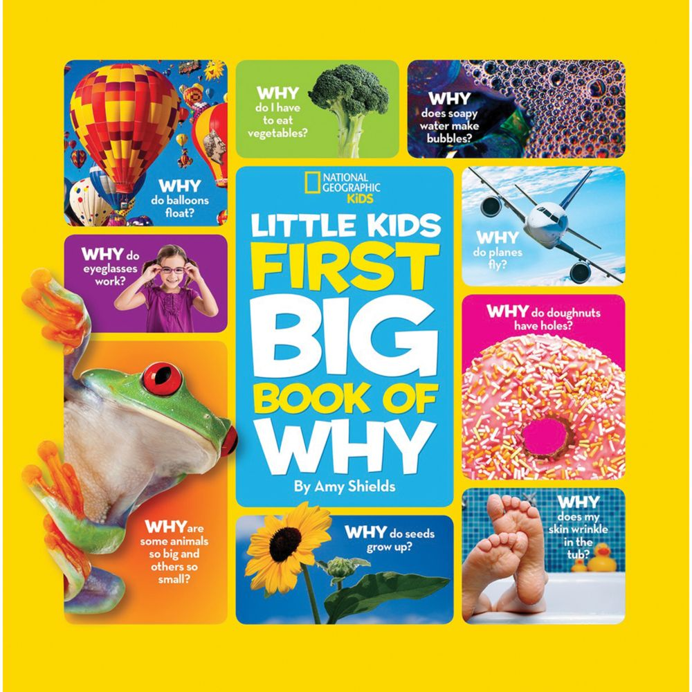 national geographic little kids first big book of why - Kids Book Pictures