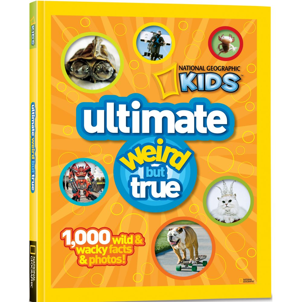 ultimate weird but true national geographic store - True Colors Book