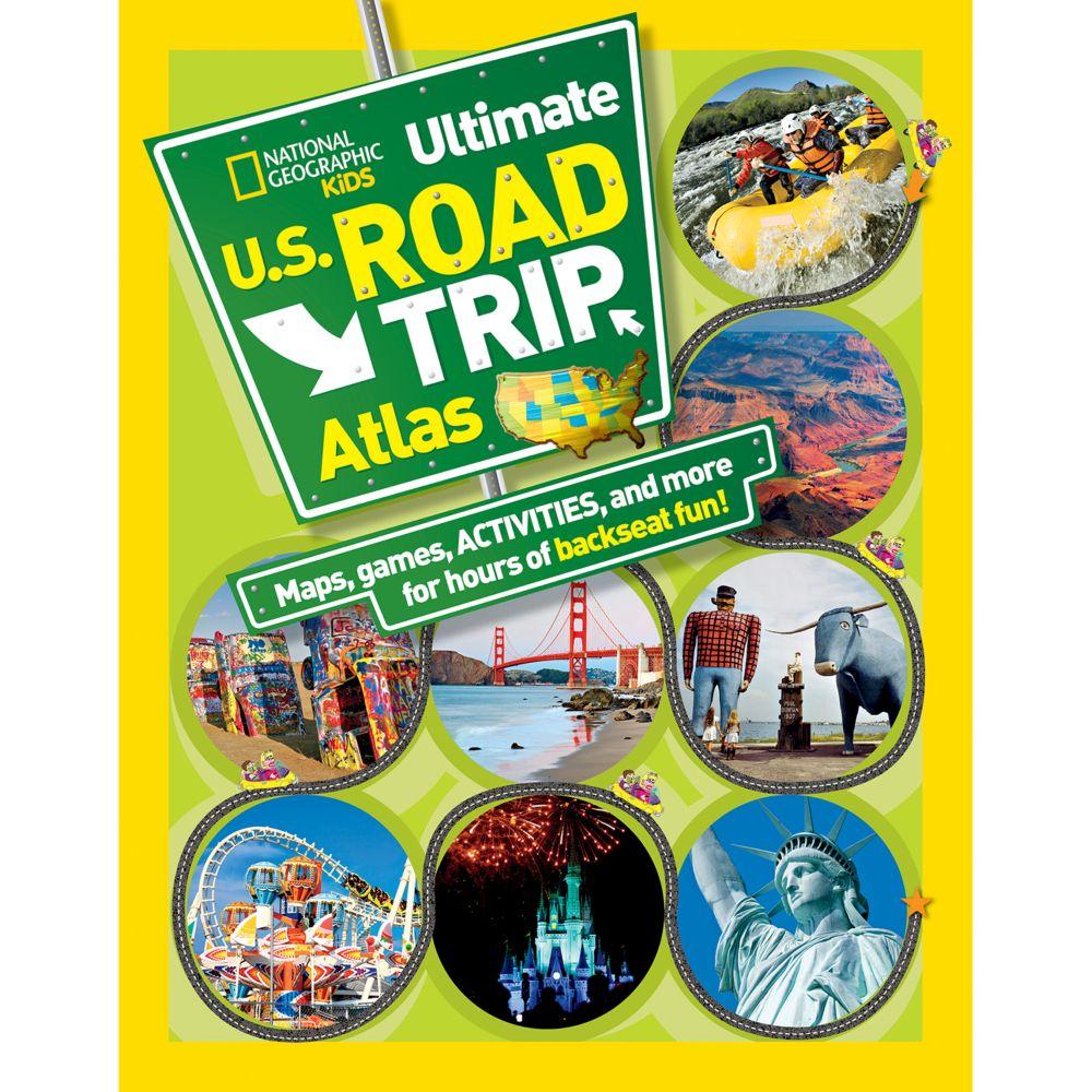 National Geographic Kids Ultimate US Road Trip Atlas National - Us atlas road map online