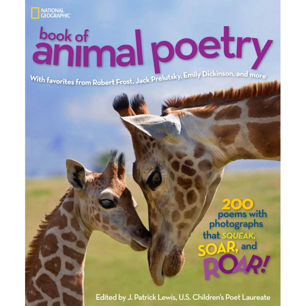 national geographic book of animal poetry national geographic store