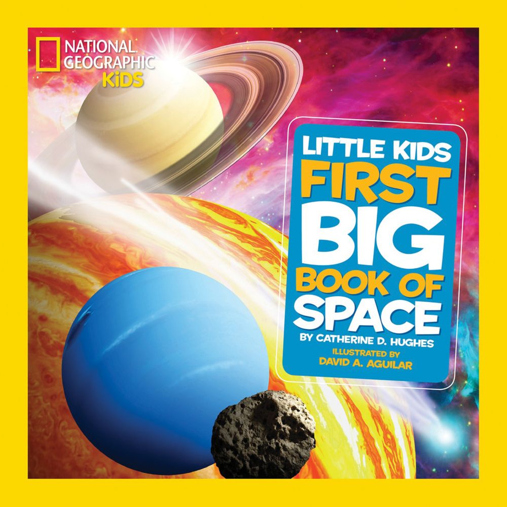 National Geographic Little Kids Big Book Of Space