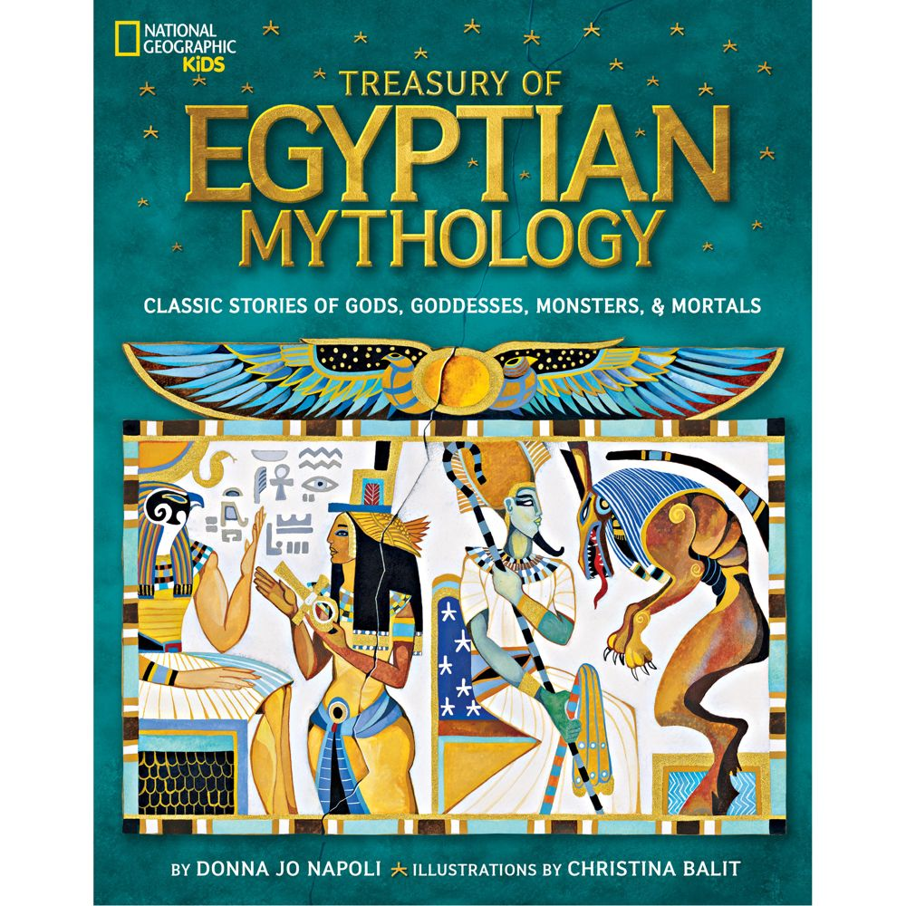 Treasury Of Egyptian Mythology National Geographic Store - Map of egypt national geographic