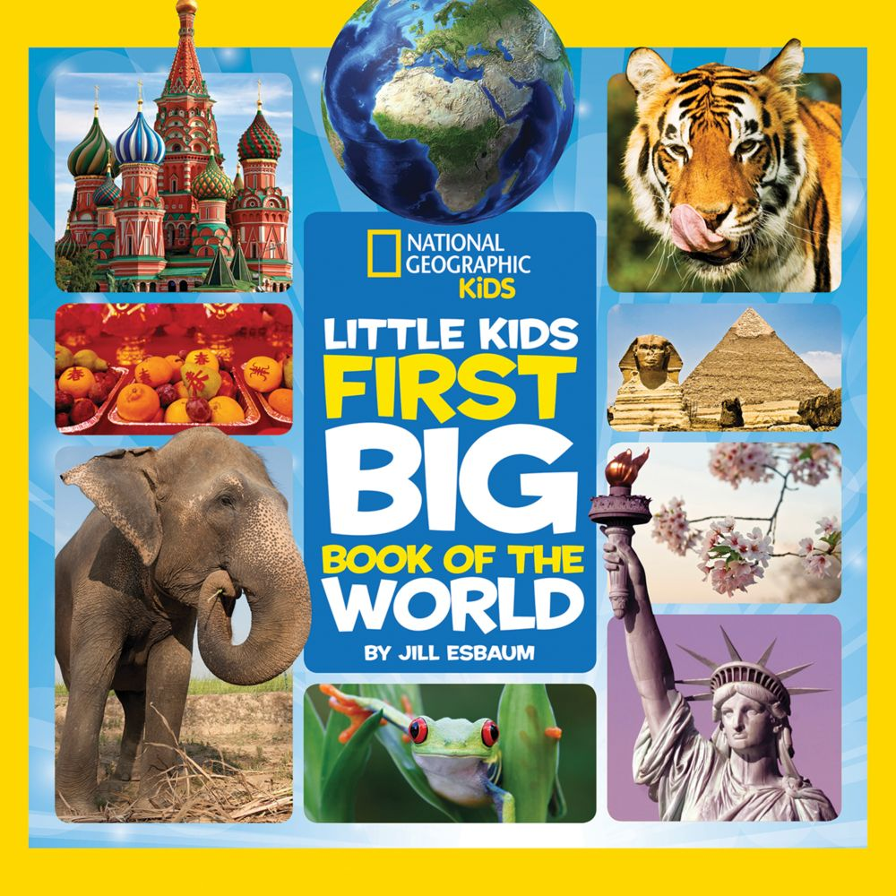 national geographic little kids first big book of the world national geographic store - Picture Of Little Kids