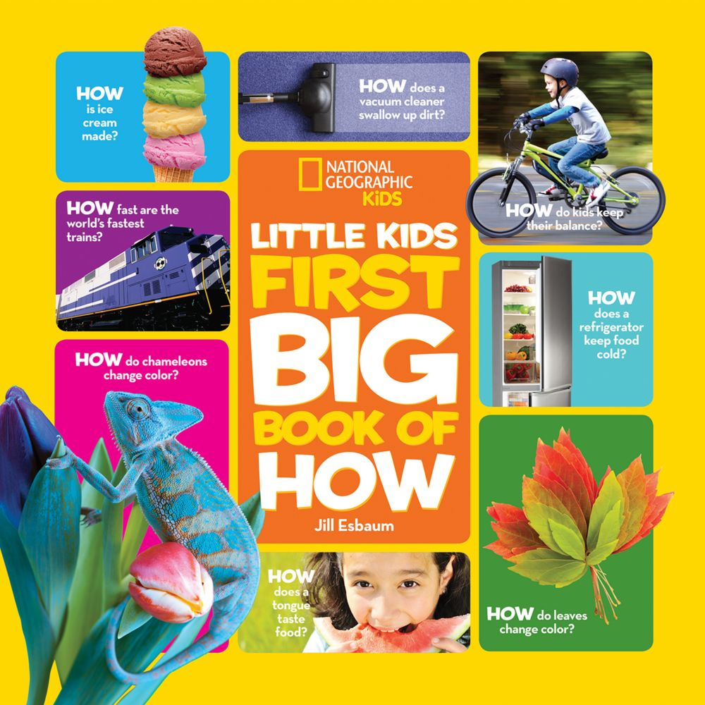 national geographic little kids first big book of how national geographic store - Picture Of Little Kids