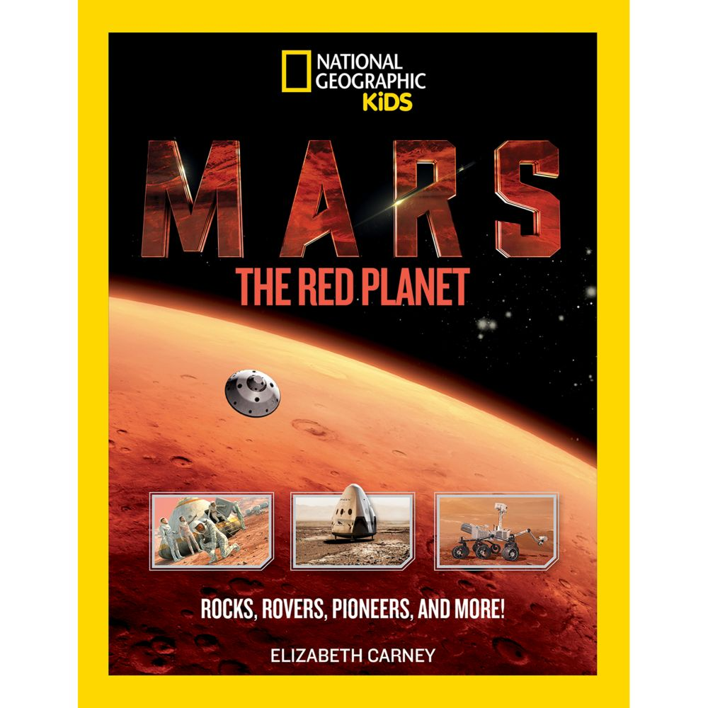 mars the red planet national geographic store