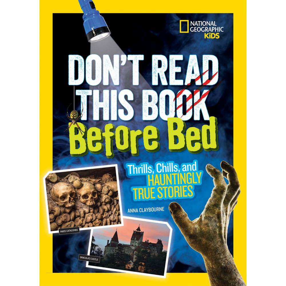dont read this book before bed national geographic store - True Colors Book